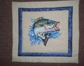 Colorful Fish Wallhanging