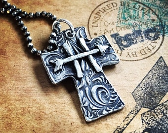 Custom Brands, Cross, long chain, cowgirl