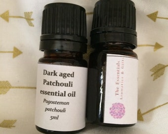 Patchouli essential oil undiluted 5ml