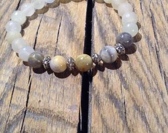 Beaded Bracelet, Gemstone bracelet