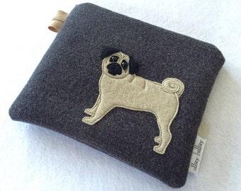 Pug Purse Pouch coin purse