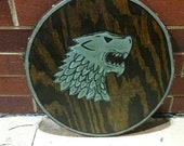 House Stark and Mormont Shield For Greg