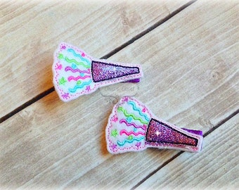 Birthday Hair Clip Noise maker Hair Clippie Pick one or two. Pick Left side or Right.