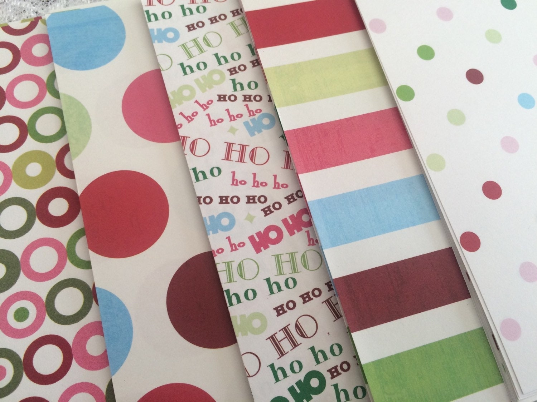 Image result for christmas scrapbook paper stacks