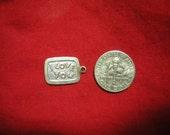 Vintage  I Love You Sterling Silver Charm