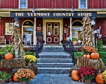 Vermont Country Store Fine Art Photographic Print 11 x 14