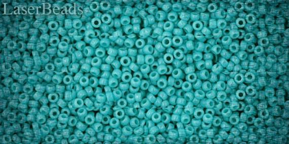 11/0 TOHO seed beads 10g Toho beads 11/0 seed beads Opaque Blue Turquoise 11-55
