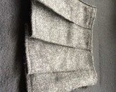 Baby Kilt in Charcoal Grey Tweed, 100% Pure New Wool, Various sizes. Handmade in Scotland.