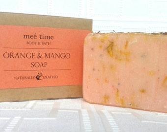 Sweet Orange and Mango Handmade Soap