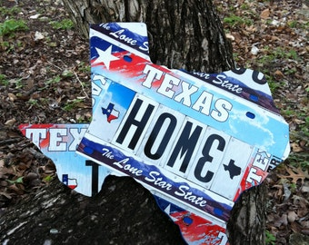 Texas License Plate Art