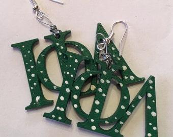 ΙΦΛ - Greek Letter Earrings