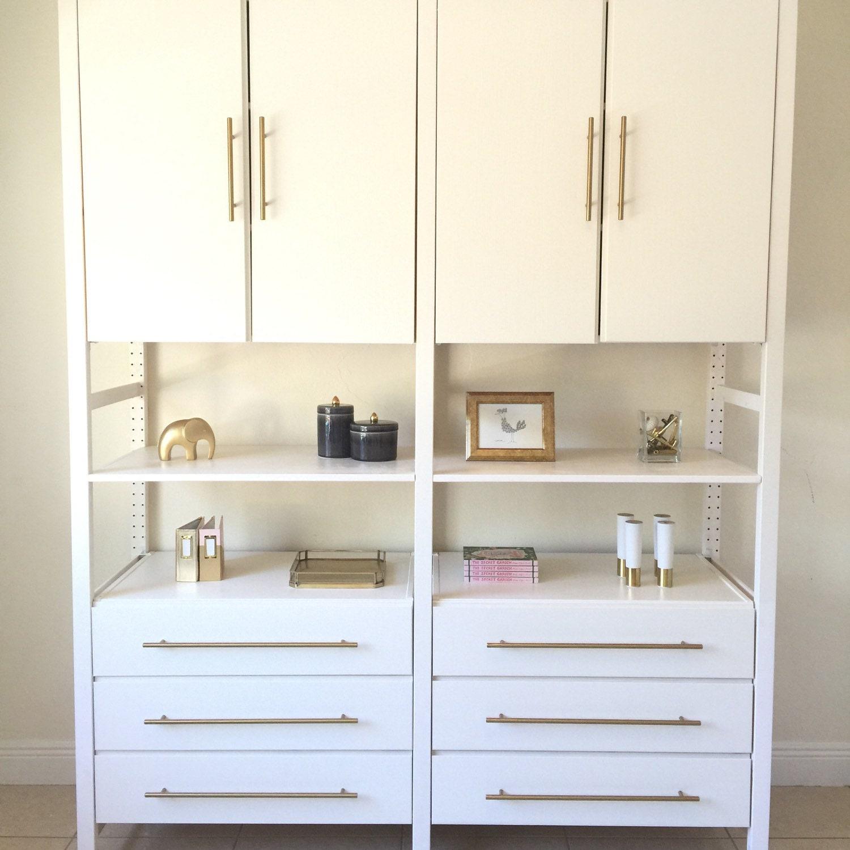 17 5 8 european drawer pull brass round drawer handles. Black Bedroom Furniture Sets. Home Design Ideas