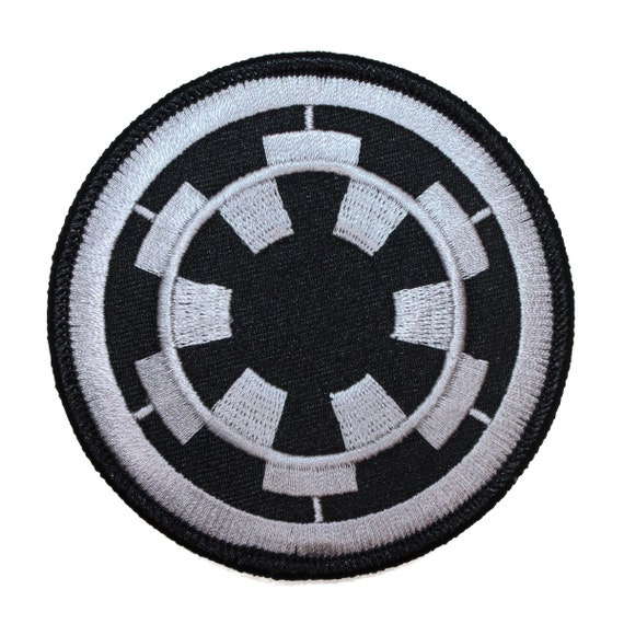 Imperial cog target empire logo sith star wars embroidered