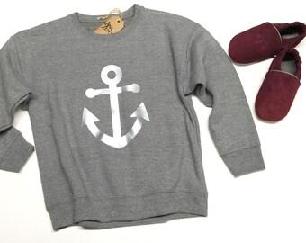 Sweat Shirts - Anchor design - Nautical design shirts