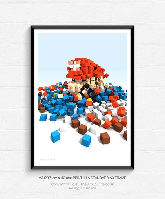 Video Game Art, Video Game Posters, Pop Art, Gaming Art, Retro Video Game, Retro Gaming, Gaming Poster, Geekery, Geeky Home Decor, Man Cave