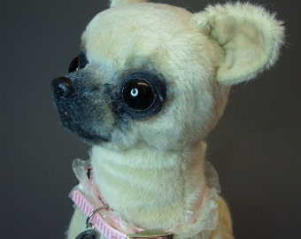 Chihuahua Sew your own little cute puppy eBook with 61 pages and pattern for this cuty