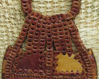 XL Hobo Leather Patchwork Purse Shoulder Bag
