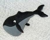 Jumbo Squeaky Whale Toy