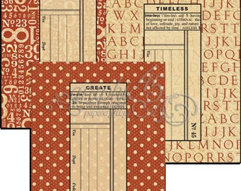 Graphic 45 Policy Envelopes-ATC Red