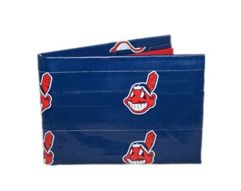 Cleveland Indians Duct Tape Wallet