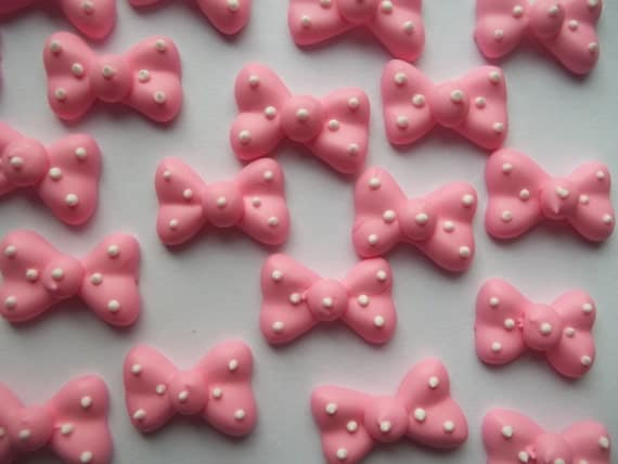 Edible Bows For Cake Pops