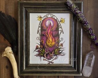 PRINT Violet Fire of Transmutation