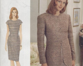 Vogue Pattern 9221--Uncut--Jacket and Dress--Sz. 12/14/16