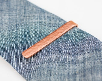 Copper Tie Bar - Forged Tie Bar - Forged Copper Tie Bar - Tie Bar