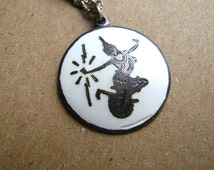 Sterling Silver Pendant - Signed Siam