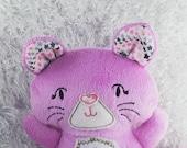 Kitty Cat Softie/Plushie - personalized