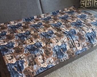 Couch Cover - Labrador Retriever Print