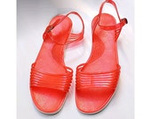 80s french Jellies Corail euro40