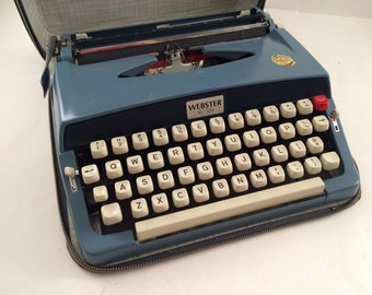 Webster XL-500 Manual Typewriter