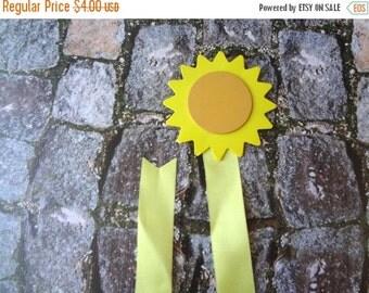 ON SALE Yellow Sun Hair Bow Holder