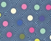 Clear Skies in Blue Raspberry - Slow and Steady by Tula Pink for FreeSpirit Fabrics