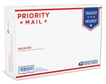 PRIORITY MAIL UPGRADE  (Not Valid With Free Shipping Code!)