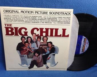 "Vintage, ""The Big Chill"" Original Soundtrack, Vinyl LP, Record Album, Marvin Gaye, The Temptations, Aretha Franklin, Three Dog Night, Motown"
