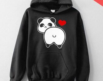 I love Panda Butt - HOODIE