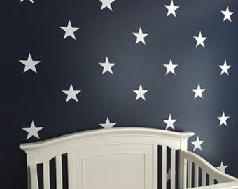 Little owl on moon star decal owl decor owl wall decal stars for Amazing look with moon and stars wall decals