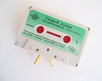 Zippered Cassette Tape Wallet - United Artist