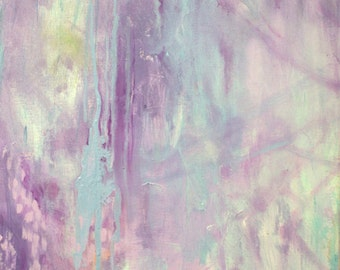 Dream in Radiant Orchid-- Modern Art--  Abstract Painting