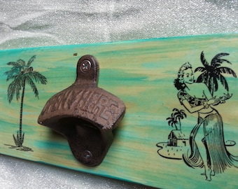 Tropical Bottle Opener