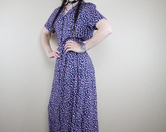 Erica Floral Vintage Dress