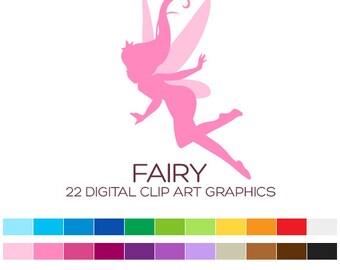 Fairy Clipart Fairy Clip Art Girl Clipart Nursery Clipart Silhouette Clipart Baby Clipart Princess Clipart Birthday Cute Clipart - A00170