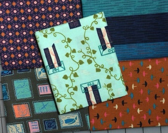 Cotton + Steel - Homebody - Kimberly Kight - Set of 5 Fat Quarter cuts #9