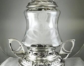 Art nouveau  Punch Bowl