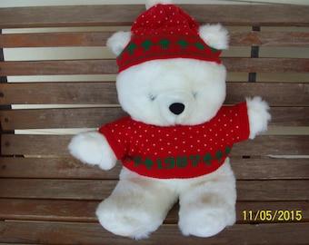 1987 Christmas Bear