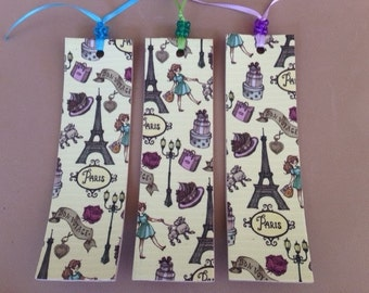 Paris Bookmark Assortment LARGE