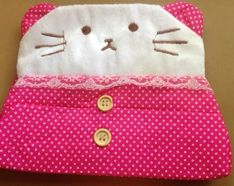 Cat Tissue Box Case