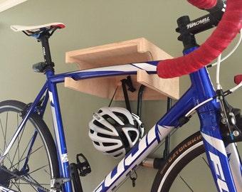 The Brook Bike Shelf // Bike Rack // Reclaimed Wood